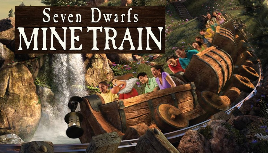 Disney Mine Train